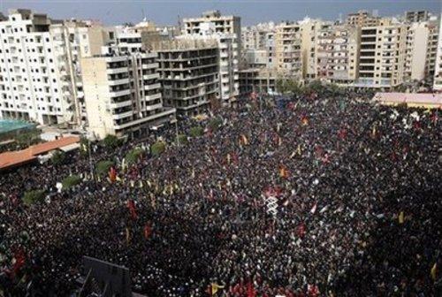 Mideast Lebanon Ashoura
