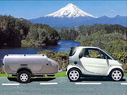 minicar and home